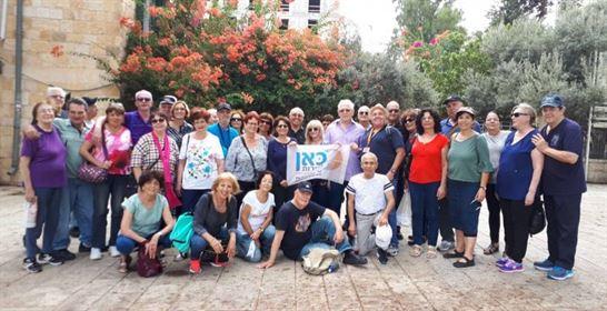 סיור צוות רמת השרון בחיפה 2018